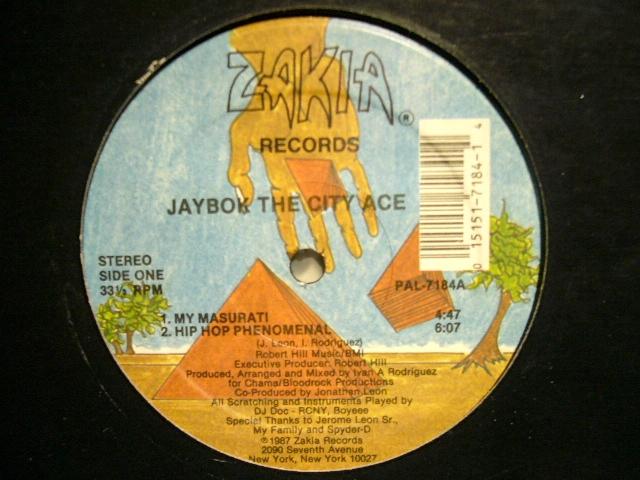 Jaybok The City Ace Hip Hop Phenominal Masurati