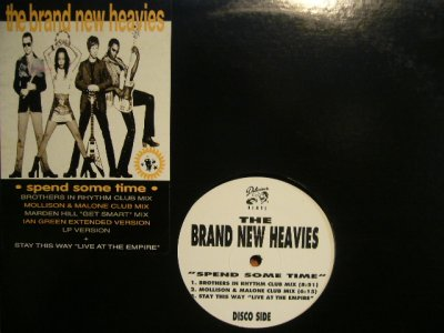 画像1: THE BRAND NEW HEAVIES / SPEND SOME TIME