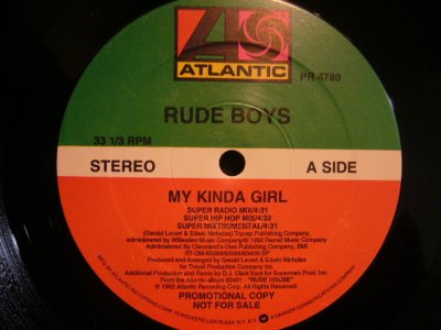 画像1: RUDE BOYS / MY KINDA GARL
