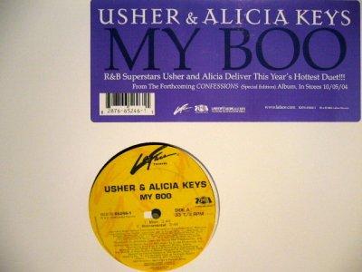 画像1: USHER & ALICIA KEYS / MY BOO