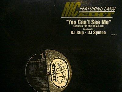 画像1: MC EIHT / YOU CAN'T SEE ME