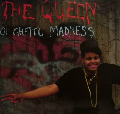 画像1: THE QUEEN OF GHETTO MADNESS / RUN THE RHYTHM