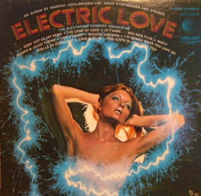 画像1: ELECTRIC LOVE / ELECTRONIC CONCEPT ORCHESTRA (LP)