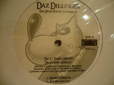 画像1: DAZ DILLINGER / DO U THINK ABOUT?