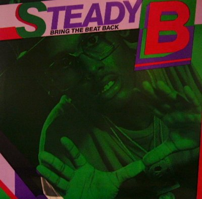 画像1: STEADY B / BRING THE BEAT BACK