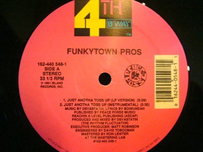 画像1: FUNKYTOWN PROS / JUST ANOTHA TOSS UP