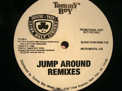 画像1: HOUSE OF PAIN / JUMP AROUND REMIXES
