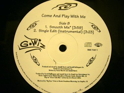 画像2: G-WIZ / COME AND PLAY WITH ME