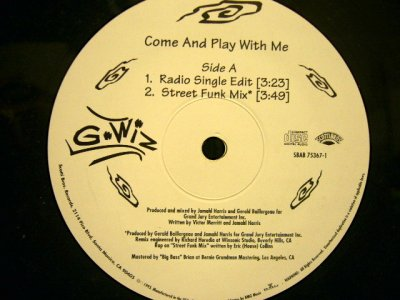 画像1: G-WIZ / COME AND PLAY WITH ME