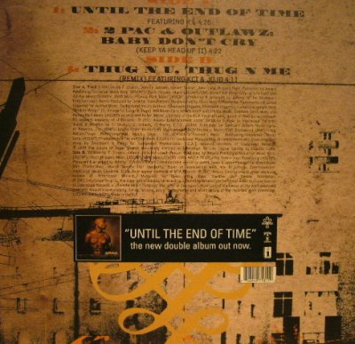 画像2: 2PAC / UNTIL THE END OF TIME  (UK)
