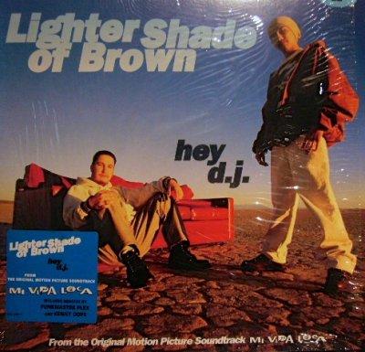 画像1: LIGHTER SHADE OF BROWN / HEY D.J.