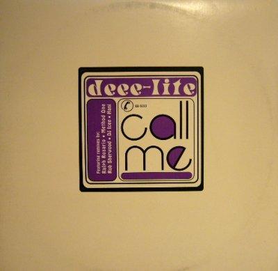 """画像1: DEEE-LITE / CALL ME ( PROMO 2×12"""")"""