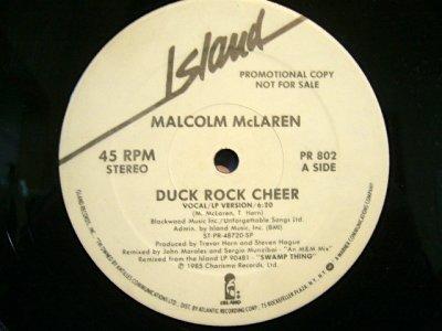 画像1: MALCOLM McLAREN / DUCK ROCK CHEER