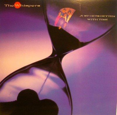 画像1: THE WHISPERS / JUST GETS BETTER WITH TIME (LP)