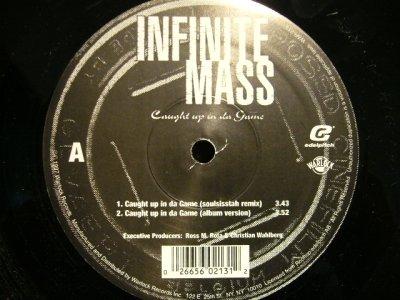 画像1: INFINITE MASS / CAUGHT UP IN DA GAME