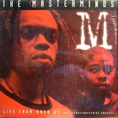 画像1: THE MASTERMINDS / LIVE FROM AREA 51: THE EXTRATERRESTRIAL PROJECT  (EP)  (SS盤)