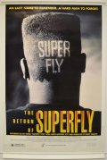 1990 THE RETURN OF SUPERFLY / US ORIGINAL MOVIE POSTER 27x40 inches (69cm x 102cm)