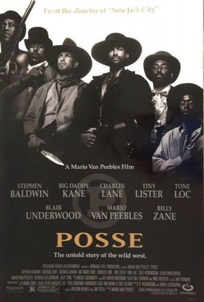 画像1: 1993  POSSE / US ORIGINAL MOVIE POSTER 27x40 inches (69cm x 102cm)