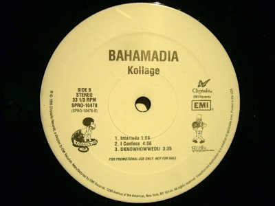画像3: BAHAMADIA / KOLLAGE  (US-PROMO 2LP)