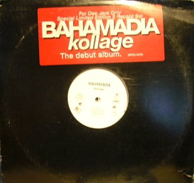 画像1: BAHAMADIA / KOLLAGE  (US-PROMO 2LP)
