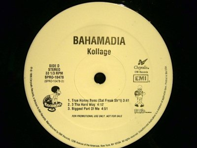 画像5: BAHAMADIA / KOLLAGE  (US-PROMO 2LP)