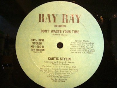 画像2: KAOTIC STYLIN ‎/ DON'T WASTE YOUR TIME