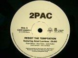 2PAC / RESIST THE TEMPTATION feat. AMEL LARRIEUX  (US-PROMO)