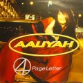 AALIYAH / 4 PAGE LETTER (UK)  (¥1000)
