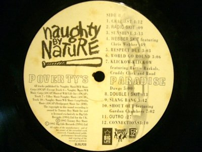 画像4: NAUGHTY BY NATURE ‎/ POVERTY'S PARADISE  (UK-LP)