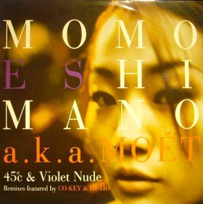 画像1: MOMOE SHIMANO (嶋野百恵 ) / 45℃ & VIOLET NUDE