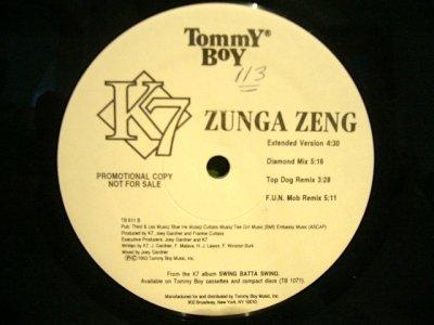 画像1: K7 / ZUNGA ZENG  (US-PROMO)