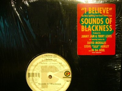 画像1: SOUNDS OF BLACKNESS / I BELIEVE