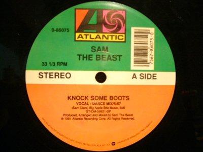画像1: SAM THE BEAST / KNOCK SOME BOOTS