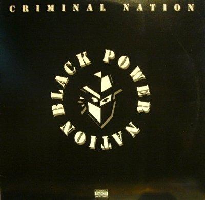 画像1: CRIMINAL NATION / BLACK POWER NATION