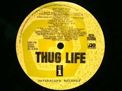 画像2: THUG LIFE / CRADLE TO THE GRAVE  (US-PROMO)