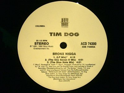 画像1: TIM DOG / BRONX NIGGA  (US-PROMO)