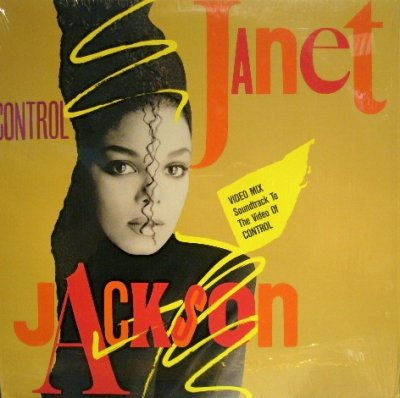 画像1: JANET JACKSON / CONTROL (VIDEO MIX: SOUNDTRACK TO THE VIDEO OF CONTROL)