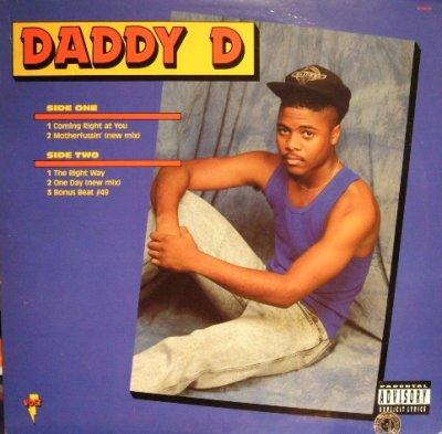 画像1: DADDY D / COMING RIGHT AT YOU