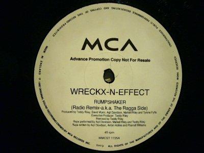 画像1: WRECKX-N-EFFECT / RUMP SHAKER  (UK-PROMO)