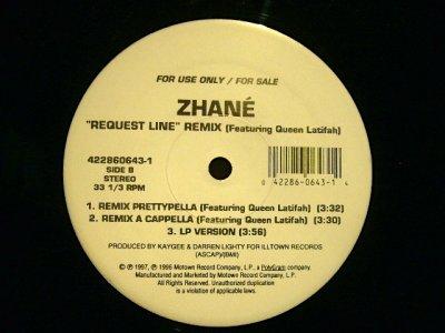 画像2: ZHANE / REQUEST LINE (REMIX) feat. QUEEN LATIFAH