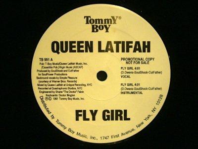 画像1: QUEEN LATIFAH / FLY GIRL / NATURE OF A SISTA'  (US-PROMO)