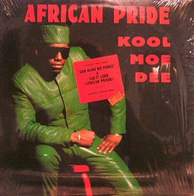画像1: KOOL MOE DEE / AFRICAN PRIDE  (¥500)