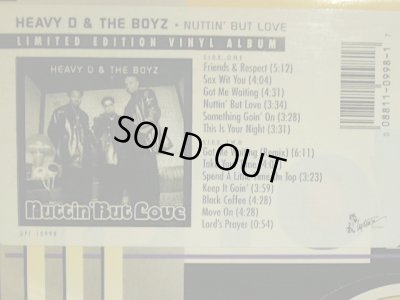 画像2: HEAVY D. & THE BOYZ /  NUTTIN' BUT LOVE  (US-LP)