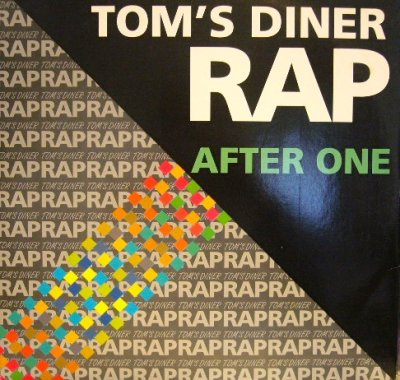 画像1: AFTER ONE ‎/ TOM'S DINER RAP  (GEMA)