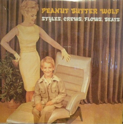 画像1: PEANUT BUTTER WOLF ‎/ STYLES, CREWS, FLOWS, BEATS