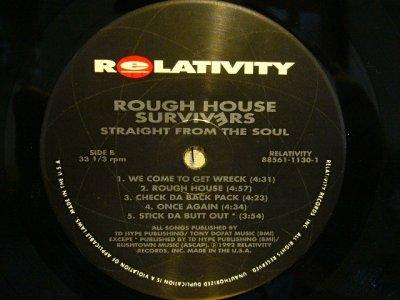画像4: ROUGH HOUSE SURVIVERS / STRAIGHT FROM THE SOUL  (US-LP)