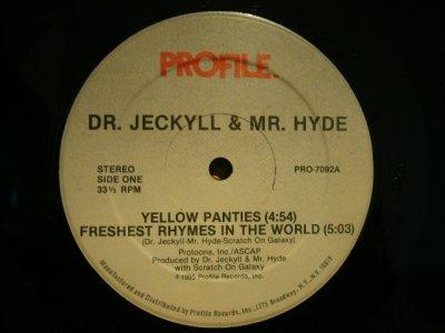 画像1: DR. JECKYLL & MR. HYDE / YELLOW PANTIES
