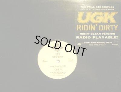画像1: UGK / RIDIN' DIRTY (RIDIN' CLEAN VERSION)  (US-PROMO LP)
