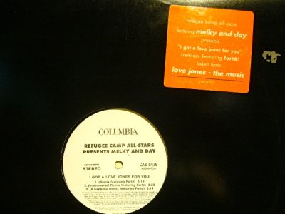 画像1: REFUGEE CAMP ALL STARS PRESENTS MELKY AND DAY ‎/ I GOT A LOVE JONES (REMIXES)