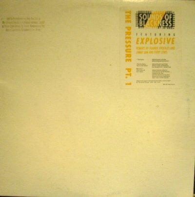 画像1: SOUNDS OF BLACKNESS / THE PRESSURE PT.1  (US-PROMO 12×2)